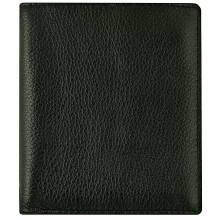 Genuine cow leather wallet WLW018 Black